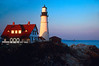 LH008<br /> Portland Head<br /> Cape Elizabeth, Maine.  The quintessential New England Light House