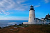LH004<br /> Pemaquid Point Light<br /> A view of this Incredible Maine Lighthouse from the top of the cliff overlooking the Atlantic Ocean.