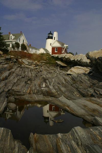 LH006<br /> Reflective Pemaquid<br /> Pemaquid Point, Maine