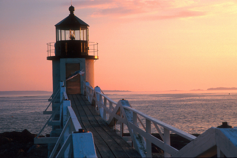LH001<br /> Marshall Point Light<br /> Port Clyde Maine