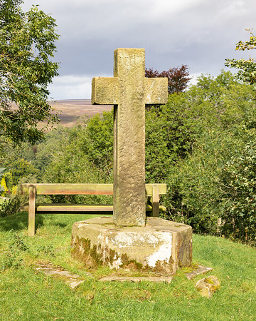 Victoria Cross - Lastingham North York Moors UK 2020