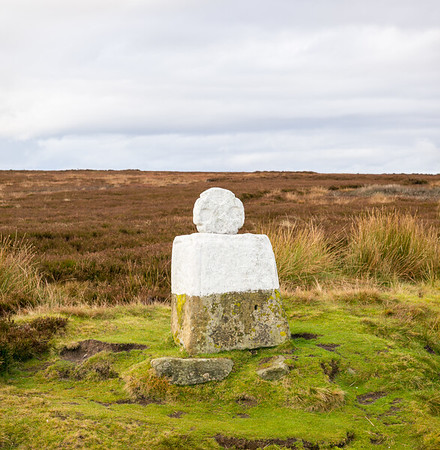 White Cross aka Fat Betty - Danby High Moor North York Moors UK 2019