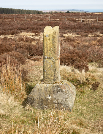 Ann's Cross - Looking out to Sea North York Moors UK 2021