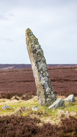 Marker Stone - Blakey Ridge North York Moors UK 2020
