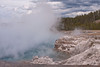 One very active hot spring.  Grand Prismatic Spring, YNP.