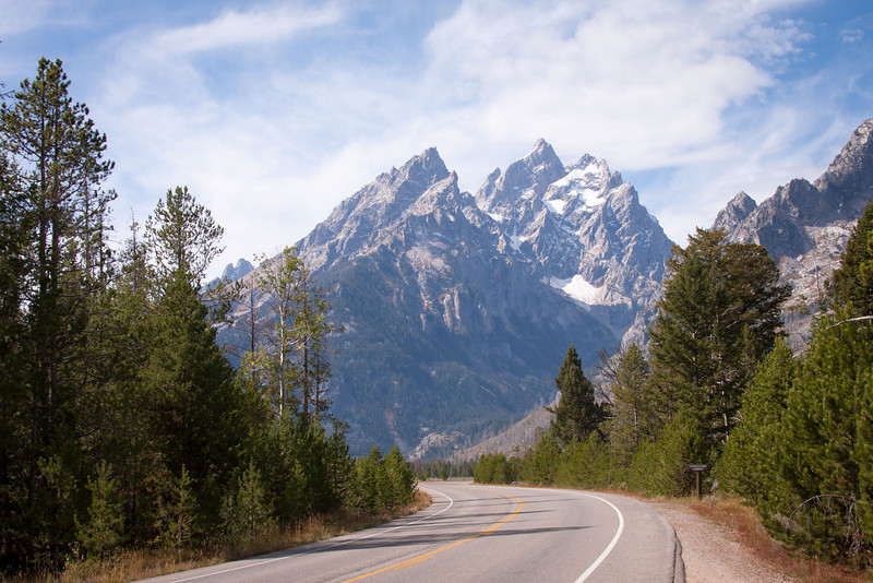 Road Through the Tetons