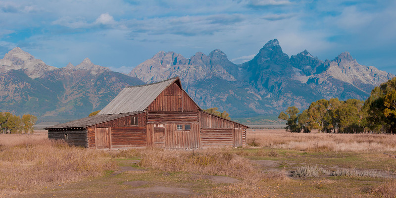 Moulton Barn on Mormon Row. Grand Teton NP.