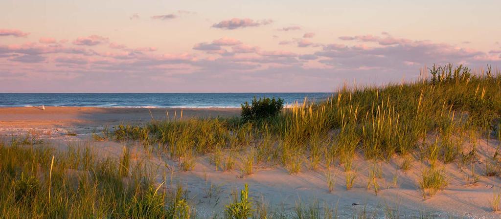 Sunset over Assateague Island <br /> Near Chincoteague. VA