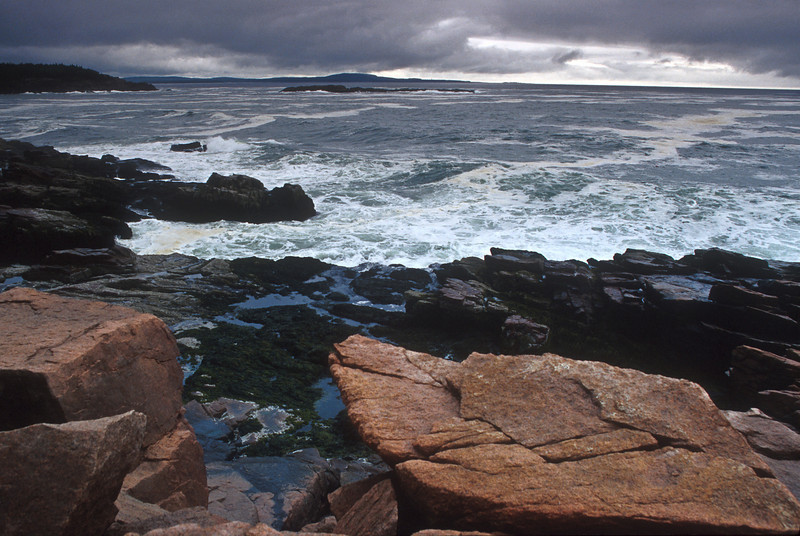 SEA002<br /> Stormy Weather<br /> Acadia NP, Maine