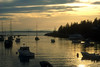 SEA025<br /> Southport Sunset<br /> Southportm Maine