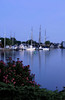 SEA009<br /> Twilight on the Mystic<br /> Mystic, Connecticut