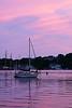 SEA020<br /> Mystic River Sunset<br /> Mystic, Connecticut
