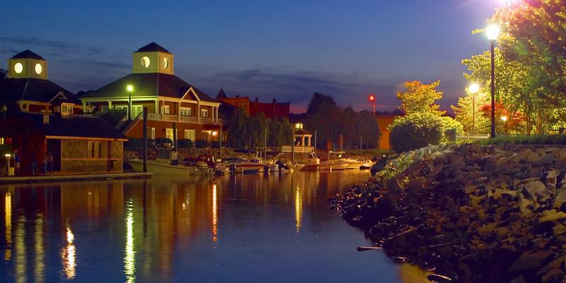 Twilight on Chelsea Harbor