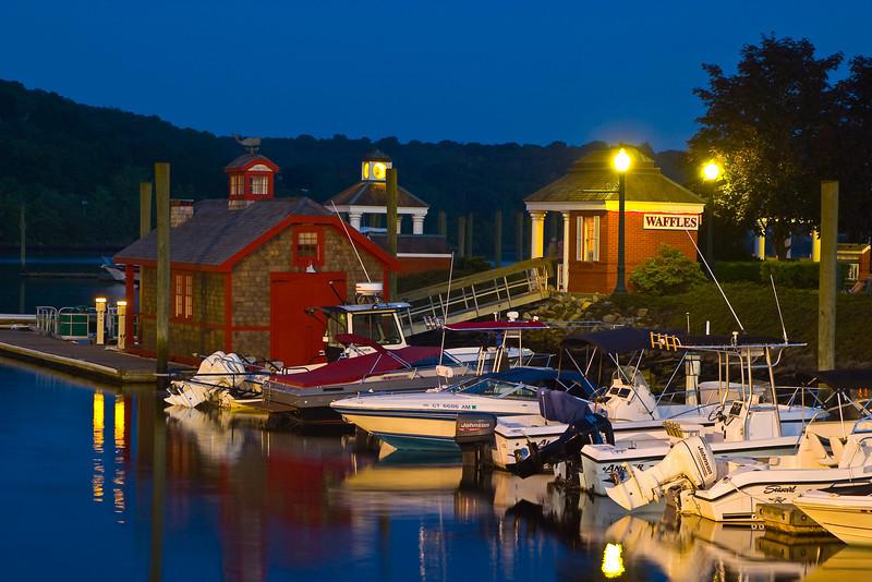 Boathouse at Twilight 1