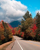 FC008<br /> Looking Back<br /> I first saw this image in my rear view mirror<br /> White Mountains, NH