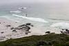 Noordhoek, The Hoek, greys and turquoise sea, surfers
