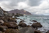 Rocky shoreline, Sentinel Hout Bay to Chapmans Peak, mussels and sea weed