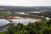 Meandering river and lake, forests and nature, tranquil, Garden Route, Sedgefield