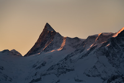 Finsteraarhorn at sunrise