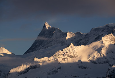 Fisnteraarhorn in the evening