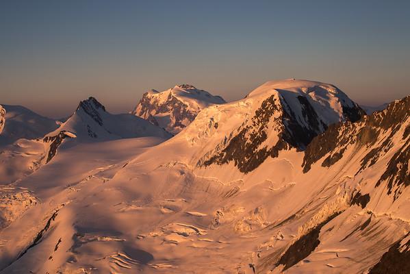 Alphubel at sunrise