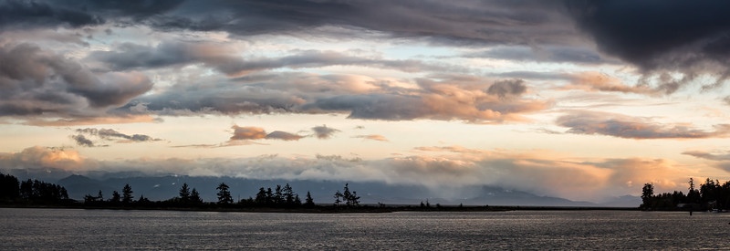 Sooke Skyline at Sunset-1