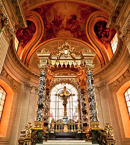 "The ""Royal Chapel"" at Les Invalides Paris, France"