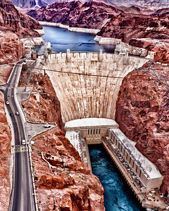 "It has been compared to the Acropolis of Ancient Greece and the Coliseum of Imperial Rome. Rising 726 feet above the raging waters of the Colorado River, it was called by the man whose name it bears ""the greatest engineering work of its character ever attempted by the hand of man."" In fact, Hoover Dam reflected the engineering genius and design philosophy of the time. And, in the midst of the Great Depression, it was a symbol of hope for the dispossessed."