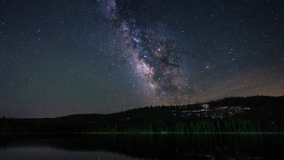 Milky Way over Donner Lake