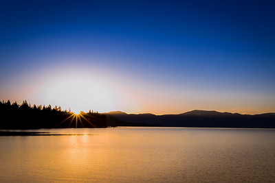 Sunrise over Lake Tahoe