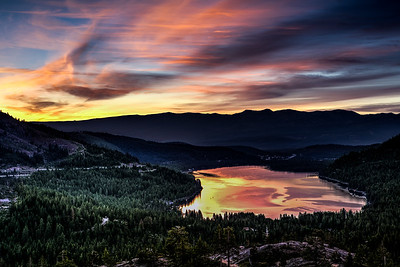 Donner Lake at Sunrise