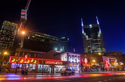 Downtown Nashville - Broadway Street