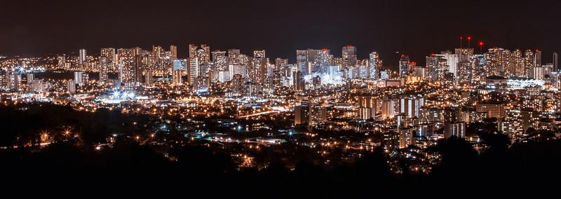 """""""Night time in Hawaii."""""""