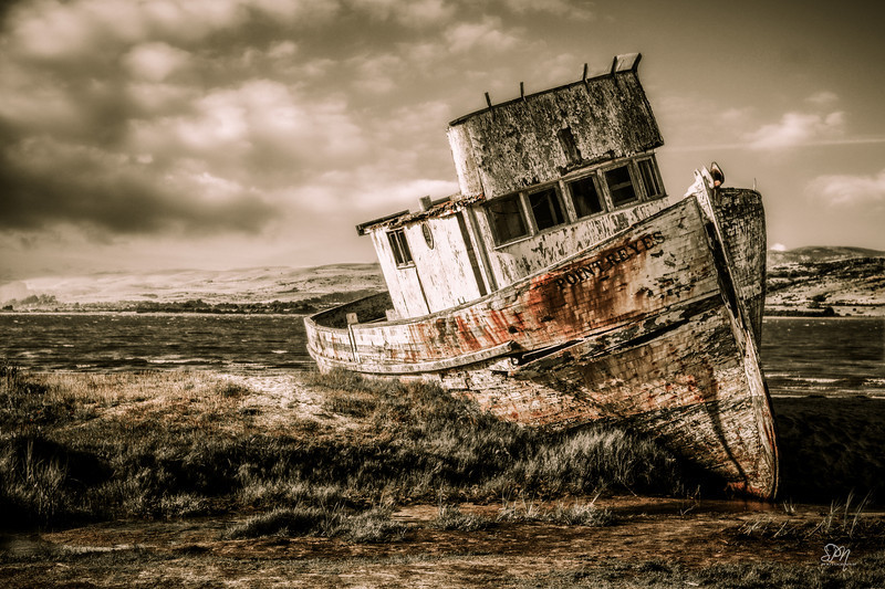 Not much is known about this shipwreck in Drakes Bay. It is, however, one of the most photographed wrecks in the area.