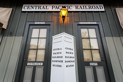 Central Pacific Railroad Ticket Office Old Town Sacramento