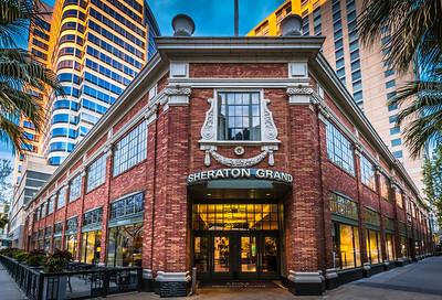The Sheraton Grand Hotel