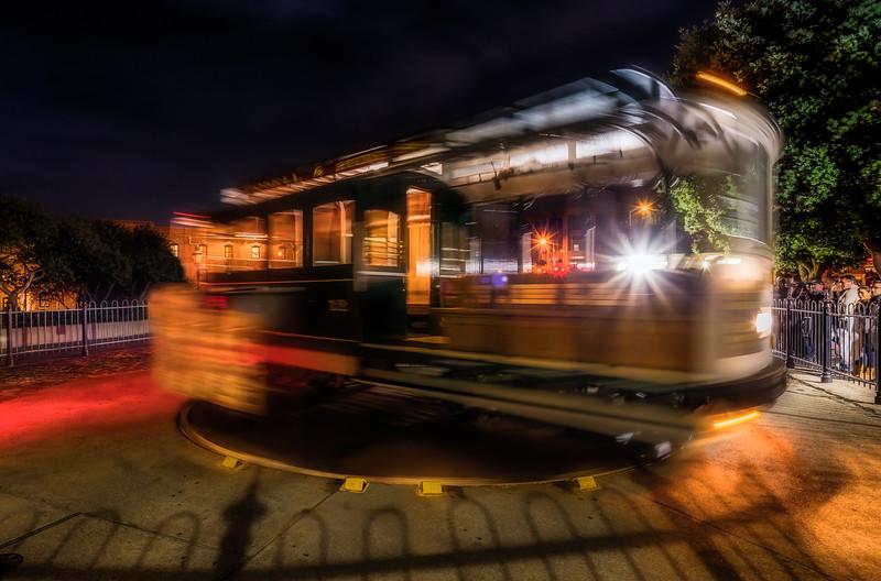 San Francisco Cable Car Turn Around