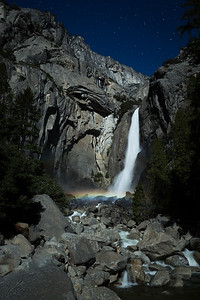 Moon bow Upper Yosemite Falls