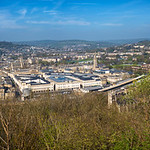The beautiful Georgian city of Bath