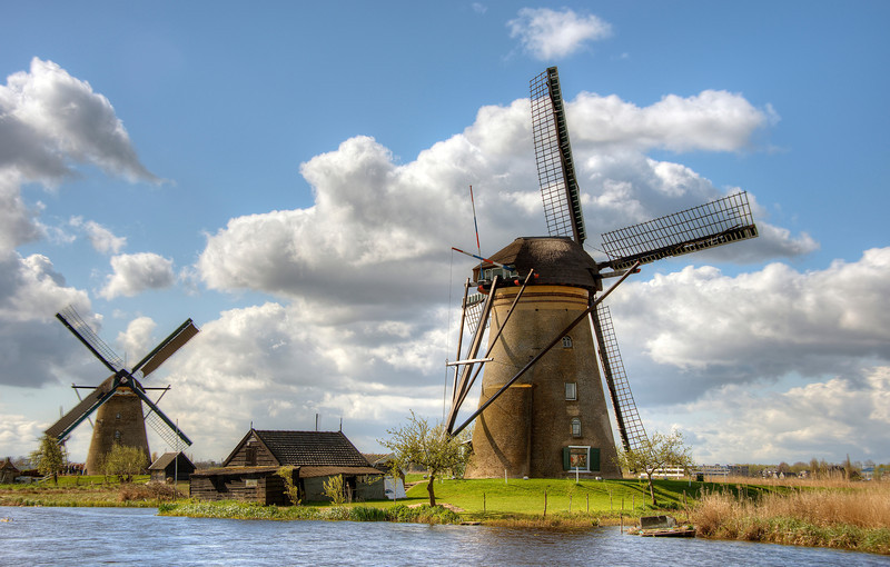 Kinderdijk, Holland, 2012