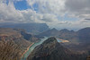Three Rondawels. Blyde Canyon Overlook, South Africa