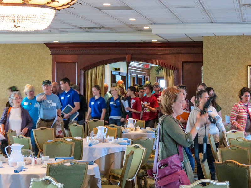 World Series of Birding Awards Brunch, Cape May NJ