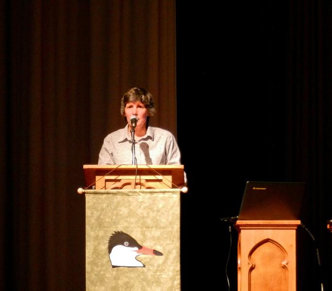 Bridget Stutchbury, Midwest Birding Symposium, Laekside OH