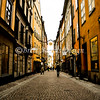 Köpmangatan Street <br /> Gamla Stan (Old City) <br /> Stockholm