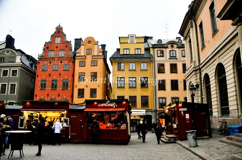 Stortorget Square<br /> Gamla Stan (Old City) <br /> Stockholm