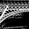 Eiffel Tower Detail<br /> Paris, France