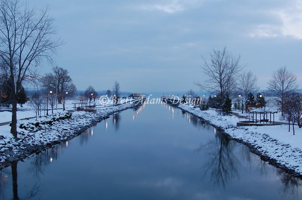 Owasco Lake Outlet - Owasco Lake, Auburn NY
