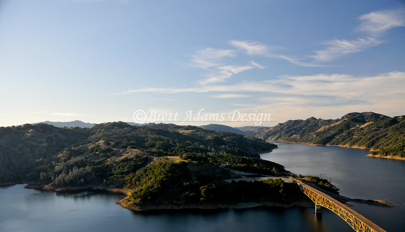 Lake Sonoma Overlook. Geyserville, CA