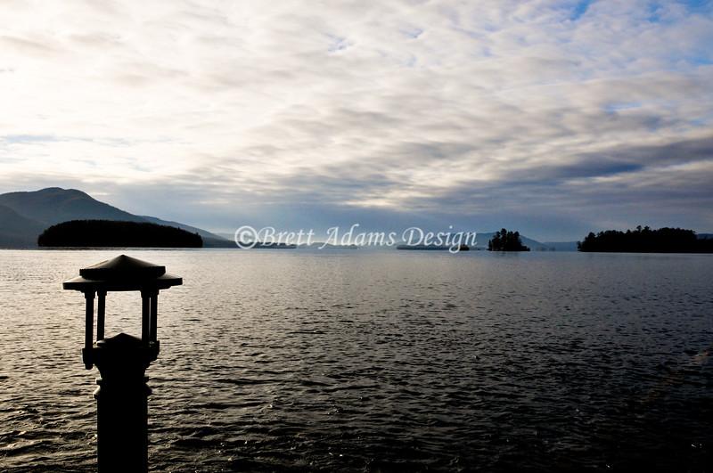 Lake George from Sagamore Resort Dock