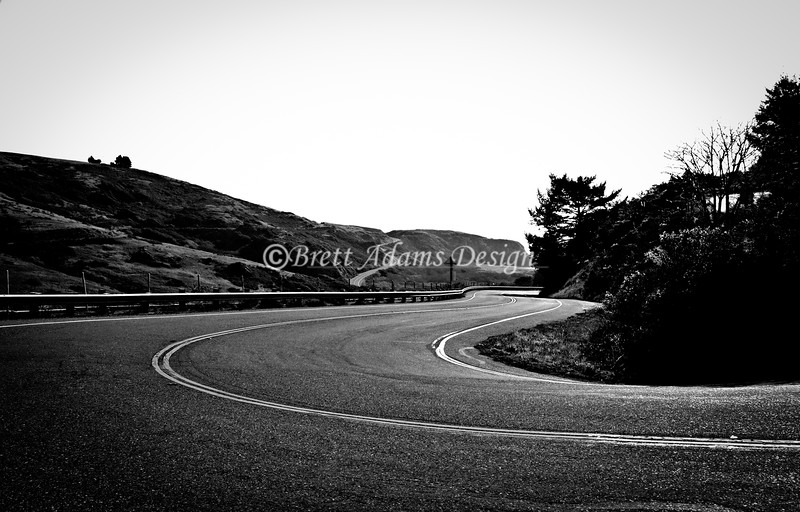 Curves<br /> Pacific Coast Highway 1, California